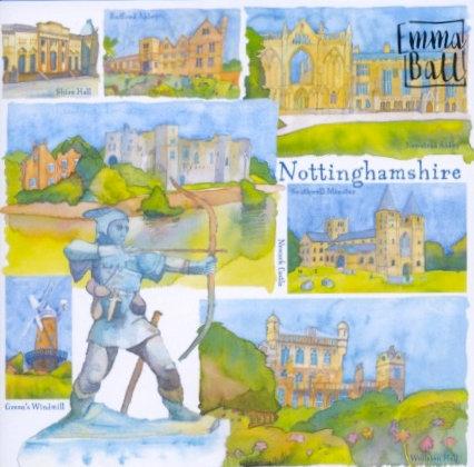 Nottinghamshire Card
