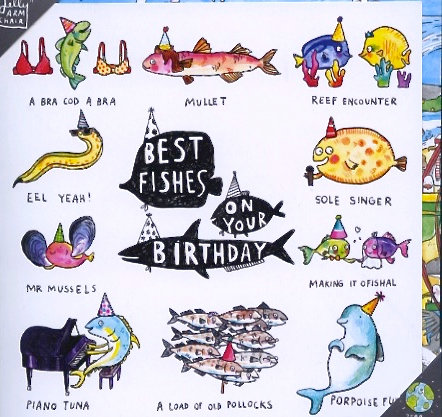 Best Fishes on your Birthday