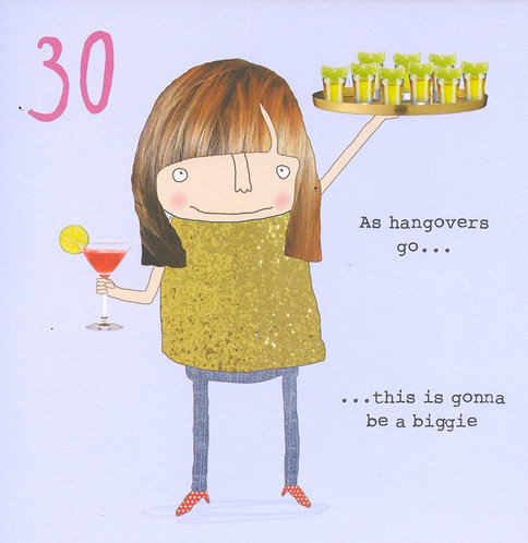 30 As Hangovers Go.