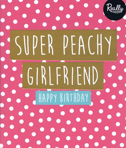 Super Peachy Girlfriend