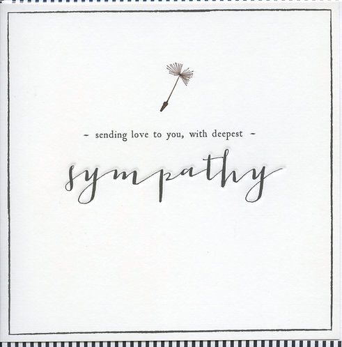 Love to you with deepest Sympathy