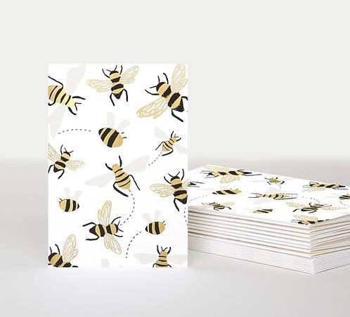 Bee Notecards Pack of 10
