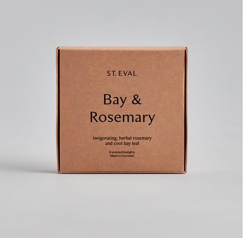 St. Eval Bay & Rosemary Tealights