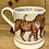 Thumbnail: Ginger Cat half pint mug.