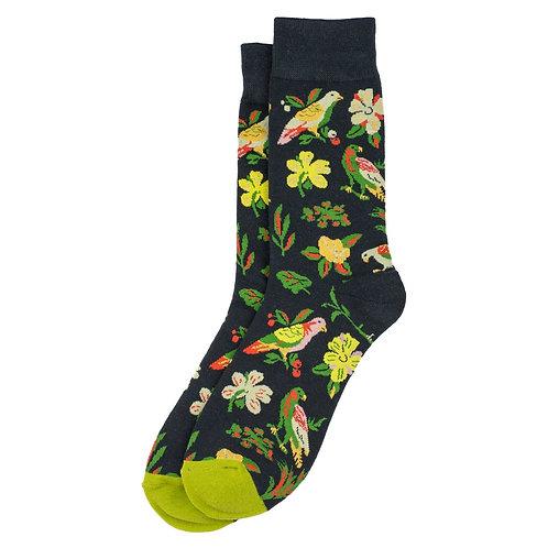 Tropical Bird Socks