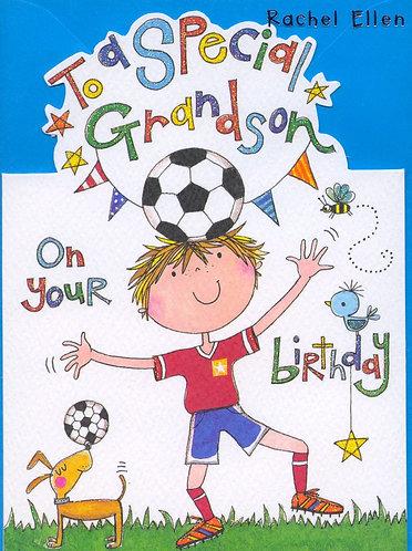 Grandson, on your Birthday.