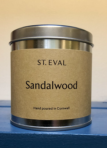 Sandalwood Scented Candle.
