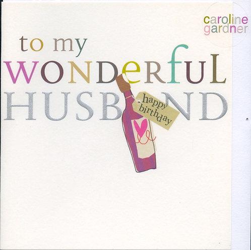 Husband, to a wonderful..