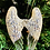 Thumbnail: 3 Glass angel wings.