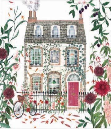 Dahlia Doll's House Card