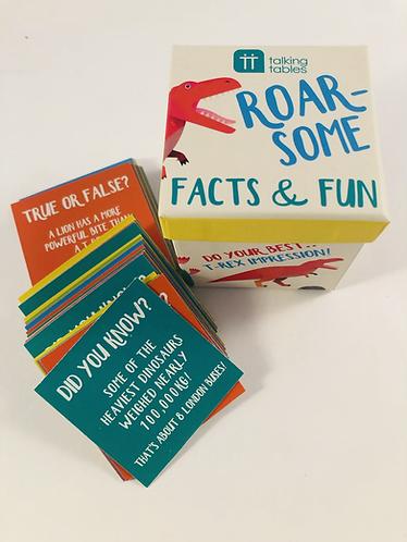 Dinosaur Fact and Fun cards.