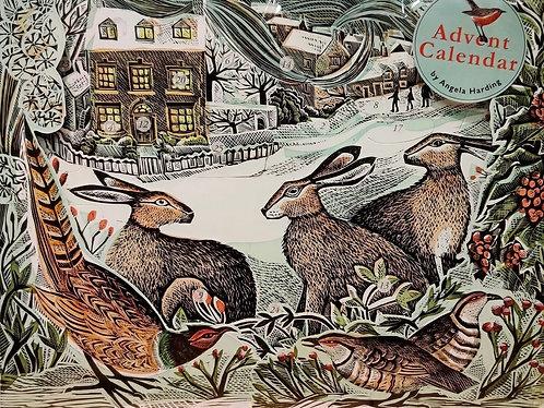 Advent Calendar We Three Hares Art Angels