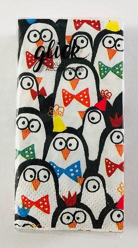 Paper Hankies, Christmas Penguins.