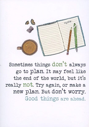 Good things are ahead.