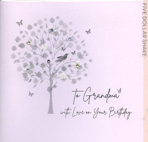 Grandma, with Love on your Birthday.