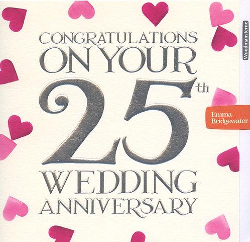 25th Wedding Anniversary (silver)
