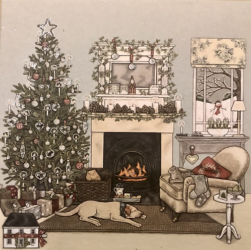 Christmas Eve. box of 8 Cards