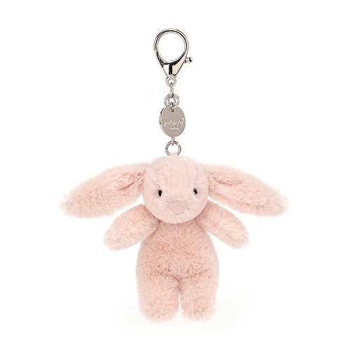 Bashful Blush Bunny Bag Charm