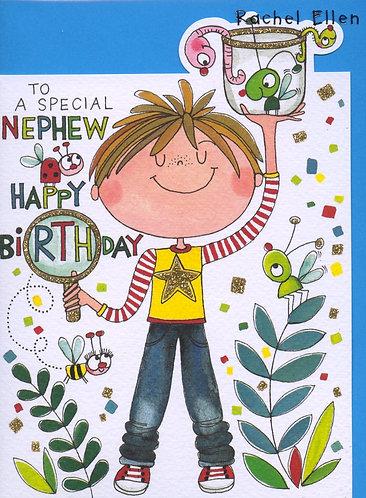 Nephew, Happy  Birthday