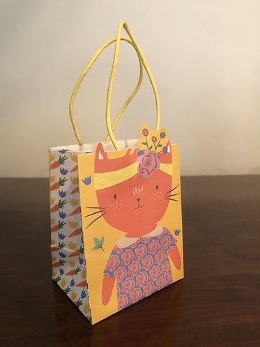 Easter Gift Bag Cat