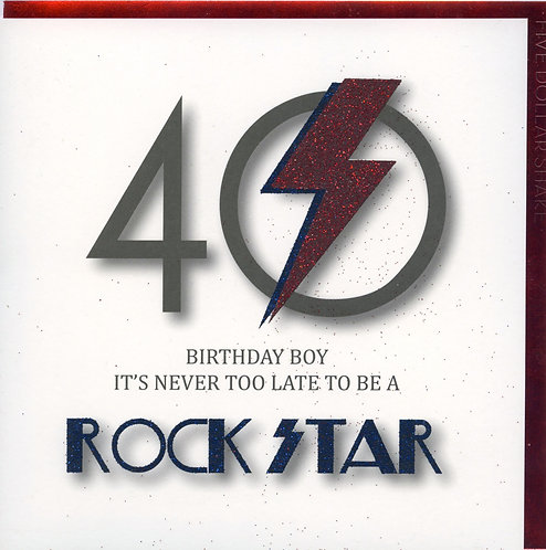 Never too late to be a Rock Star