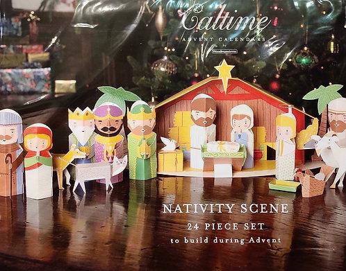 Advent Calendar Pop Out 3D Nativity
