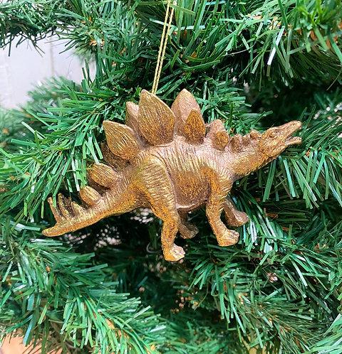 Gold Resin Dinosaurs