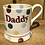 Thumbnail: Daddy half pint mug, boxed.