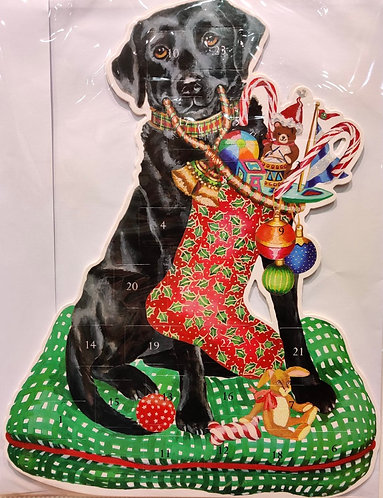 Advent Calendar Black Labrador