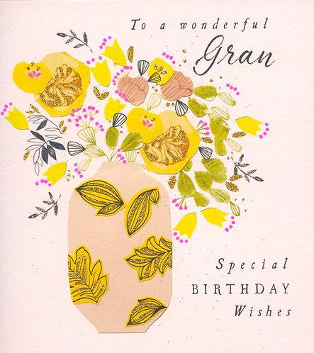 Gran, to a wonderful