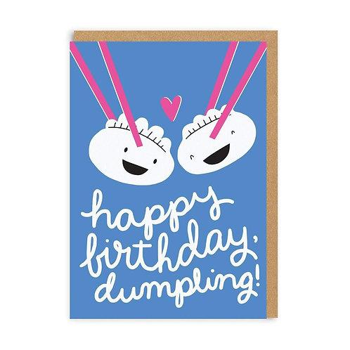 Happy Birthday Dumpling