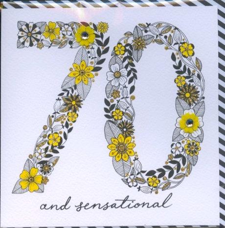 70 and Sensational.