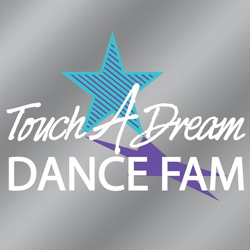 TAD Dance Fam Car Window Decal