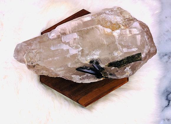 Green Tourmaline Crystal Specimen -  1429 grams (1.429 Kg)