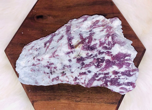 Pink Tourmaline Crystal Specimen - 379 grams