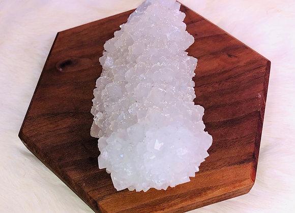 WHITE Apophyllite Crystal Specimen -  336 grams