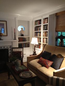 4th Ward renovation living room