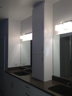 Urban master bath vanity view 1
