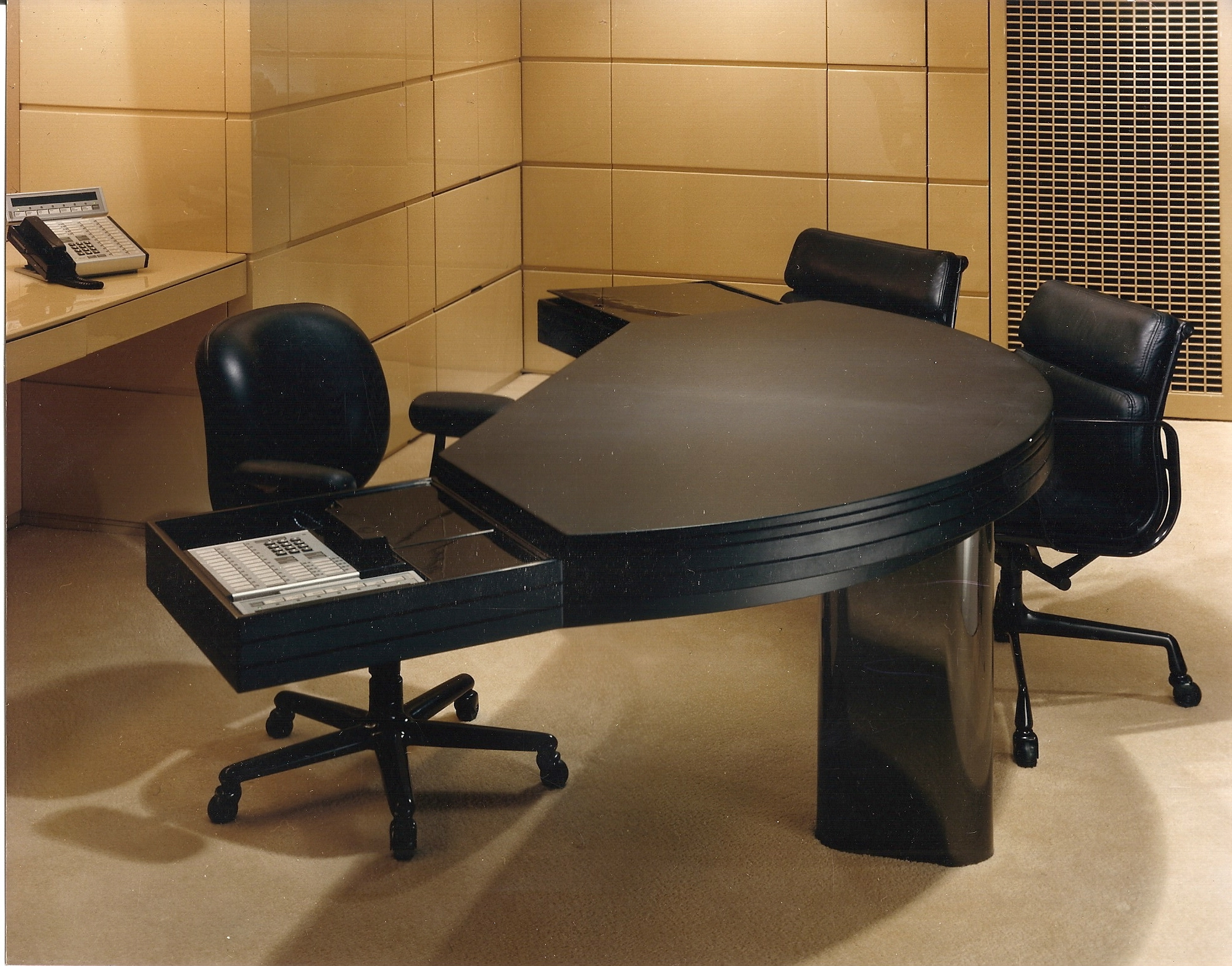 Commercial custom executive desk