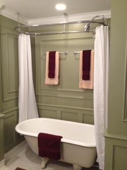 4th Ward renovation bathtub