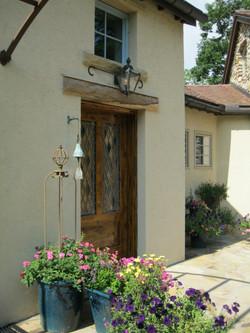 Mountain residence front door