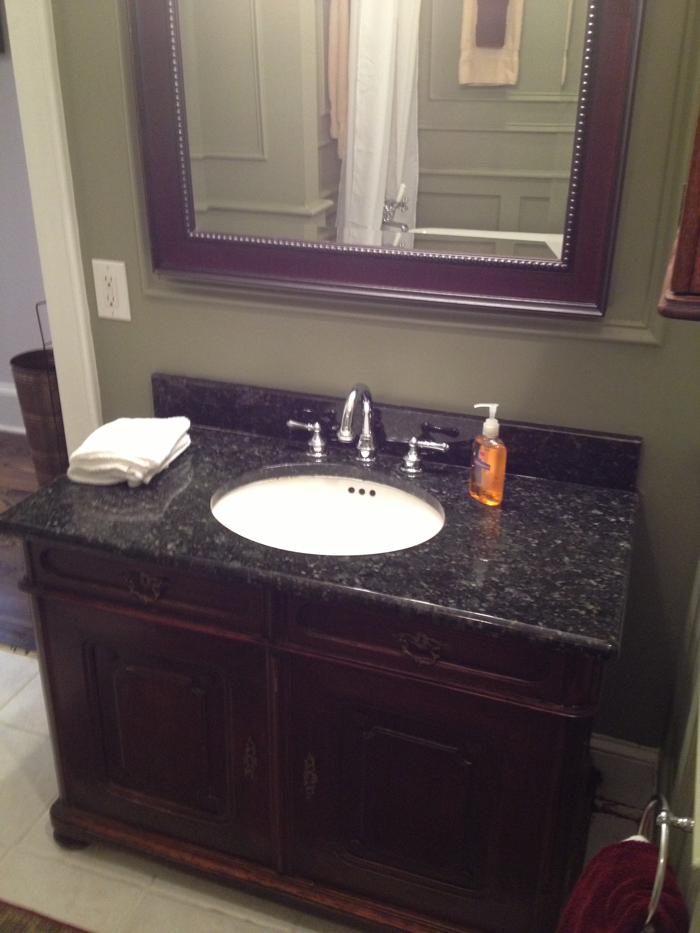 4th Ward renovation bath vanity