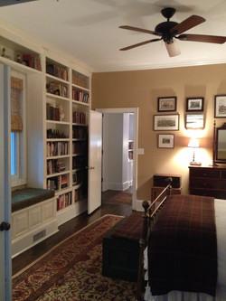 4th Ward renovation master bedroom
