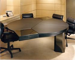 Custom commercial desk expanded