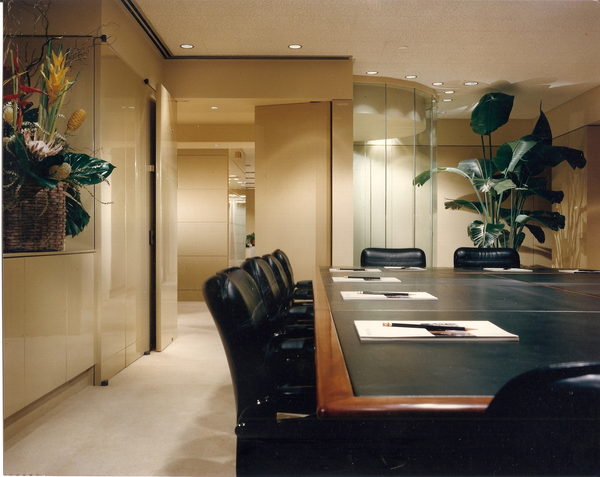 Commercial conference room