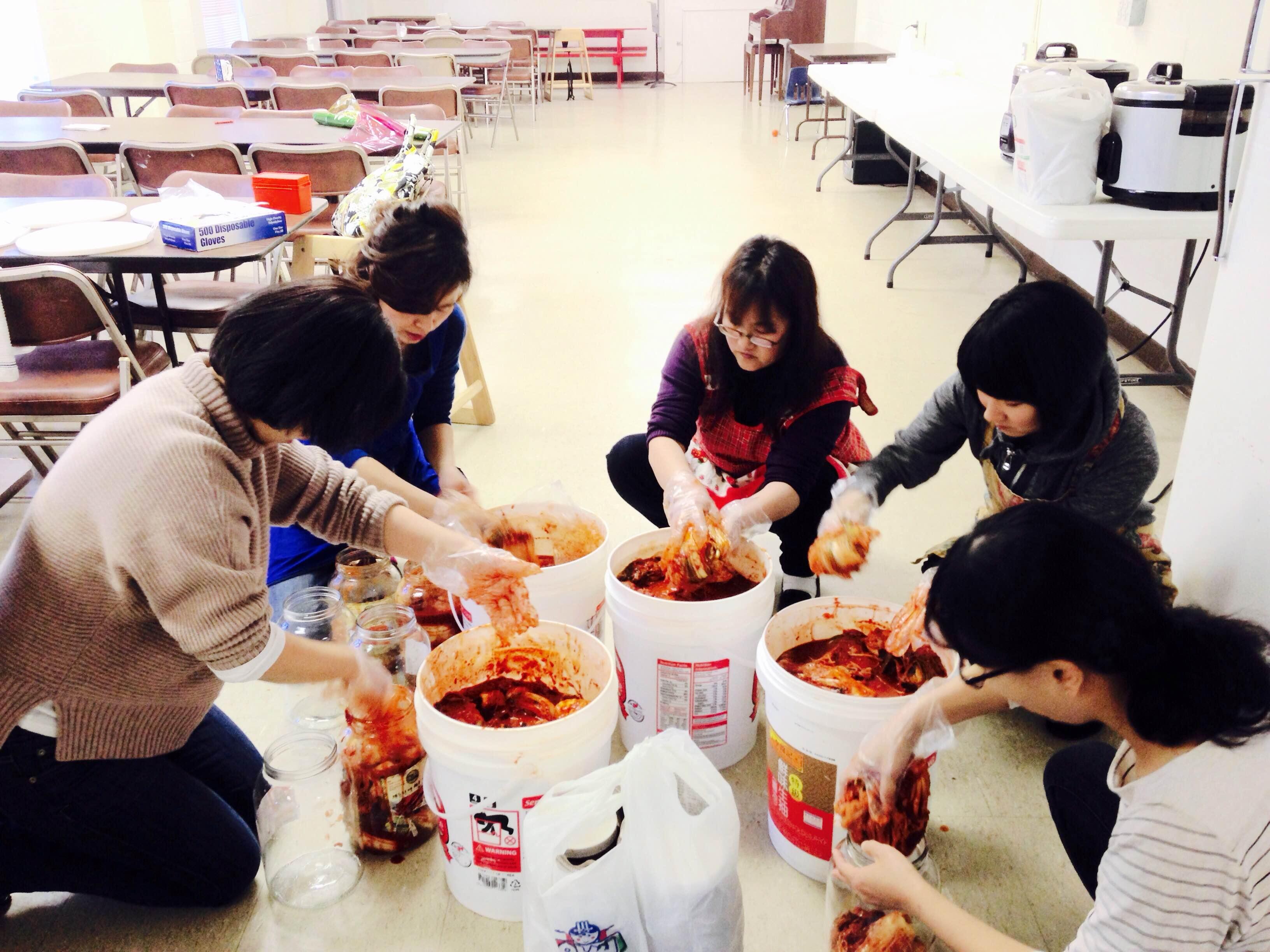 Fundraising (김치 판매) 2