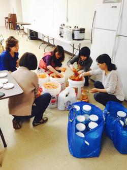 Fundraising (김치 판매) 3