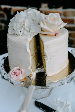reception cake photo