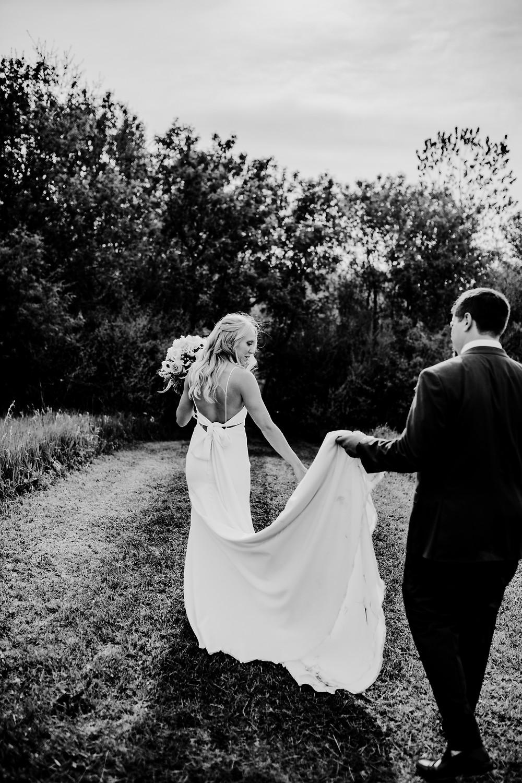 wedding photo by Little Blue Bird Photography in Manitou Beach Michigan