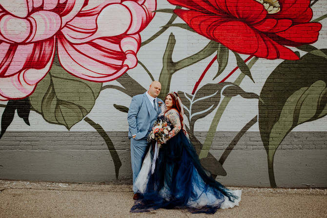 Sarah + Pat | Eclectic Southern Michigan Wedding
